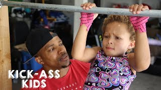 Download 5-Year-Old CrossFitter Can Deadlift Double Her Weight | KICK-ASS KIDS Video