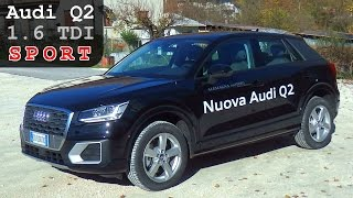 Download Audi Q2 1.6 TDI SPORT | Panoramica Completa | Esterno Interni Giro di Prova e Accelerazione Video