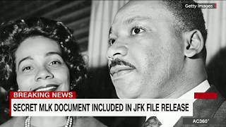 Download Secret MLK document included in JFK file release Video