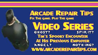Download Arcade Repair Tips - Tim's Spooky Encounter At His Previous Employer Video