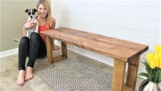 Download The $15 Fifteen Minute Bench - Easy DIY Project Video