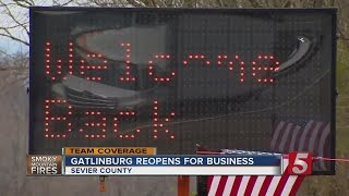 Download Downtown Gatlinburg Reopens To The Public Video
