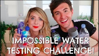 Download IMPOSSIBLE WATER TASTING CHALLENGE W/ ZOE!! Video