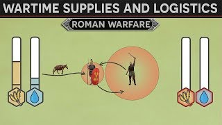 Download Threats to Roman Army Supply Lines and Logistics in Wartime Video