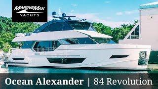 Download FIRST EVER | Ocean Alexander 84R | Yacht Walkthrough Video