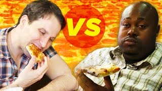 Download Drunk Vs. Stoned: Pizza Eating Challenge Video
