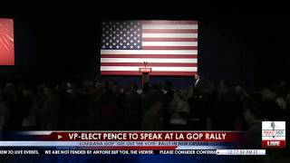 Download Full Event: GOP Get Out The Vote Rally for John Kennedy feat. VP-Elect Mike Pence 12/3/16 Video