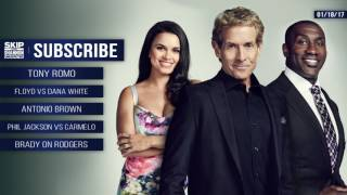 Download UNDISPUTED Audio Podcast (1.18.17) with Skip Bayless, Shannon Sharpe, Joy Taylor | UNDISPUTED Video