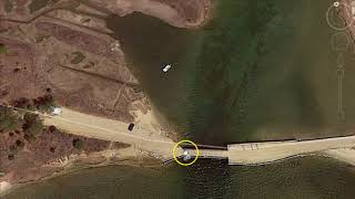 Download Chappaquiddick island- Ted Kennedy incident from Google Earth. Video