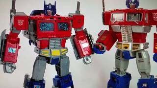 Download Power of the Primes Leader Class Optimus Prime Powermaster Orion Pax Transformers 2017 Review Video