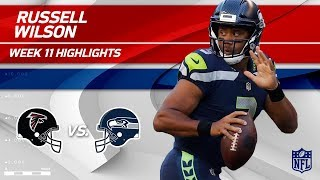 Download Russell Wilson's Strong Night w/ 344 Total Yards & 3 TDs! | Falcons vs. Seahawks | Wk 11 Player HLs Video