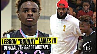 Download Bronny James Jr OFFICIAL Mixtape Vol. 1!!! ″KING'S BLOOD″ Video