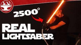 Download Make it Real: LIGHTSABER BUILD (2500° OF DESTRUCTION) Video