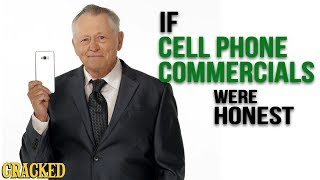 Download If Cell Phone Commercials Were Honest - Honest Ads (iPhone, Android) Video