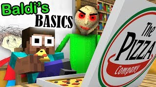 Download BALDI'S BASICS BECOME CRAZY TEACHER in Monster School - Minecraft Animation Video