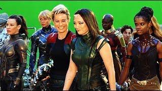 Download Avengers Endgame A-FORCE Behind The Scenes Bonus Clip Video