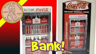Download Coca Cola Musical Vending Machine Bank - It's The Real Thing! Video
