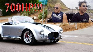 Download Driving a 700HP Superformance Cobra was Terrifying! Video