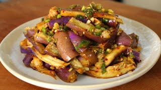 Download Eggplant and soy sauce side dish (가지나물) Video