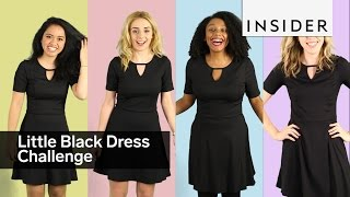 Download We asked four INSIDERs to style the same little black dress Video