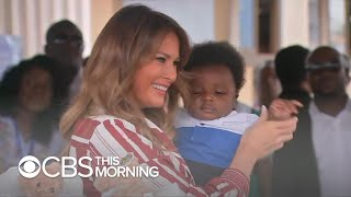 Download Mending bridges: Unspoken subtext of Melania Trump's Africa visit Video