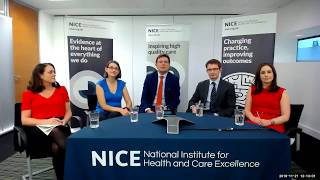 Download NICE Webinar: why health technology evaluation is changing Video