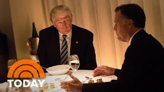 Download Donald Trump Dines With Mitt Romney, Makes 3 More Cabinet Picks | TODAY Video