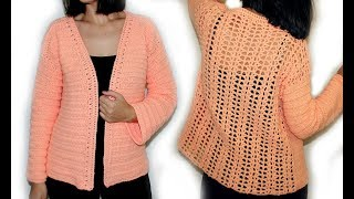 Download Crochet Elegant Cardigan/Sweater Video