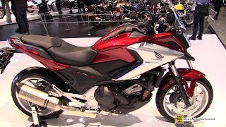 Download 2018 Honda NC750X DCT - Walkaround - 2017 EICMA Milan Motorcycle Exhibition Video