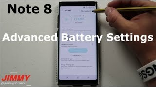 Download The HIDDEN Note 8 Advanced Battery Settings Video