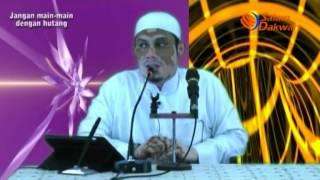 Download Jangan Main-Main Dengan Hutang - Ustadz Ahmad Zainuddin,Lc Video