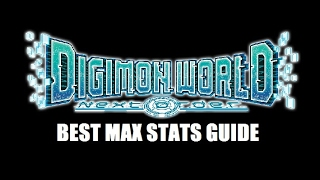 Download Digimon World Next Order - Max Stats Tutorial Guide - How To Get Max Stats In Rookie Form! Video