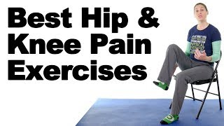 Download 10 Best Hip & Knee Pain Strengthening Exercises - Ask Doctor Jo Video