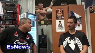 Download (WOW) Kid Walks 9 Hours To Meet Robert Garcia You Wont Believe What Happens Next EsNews Boxing Video
