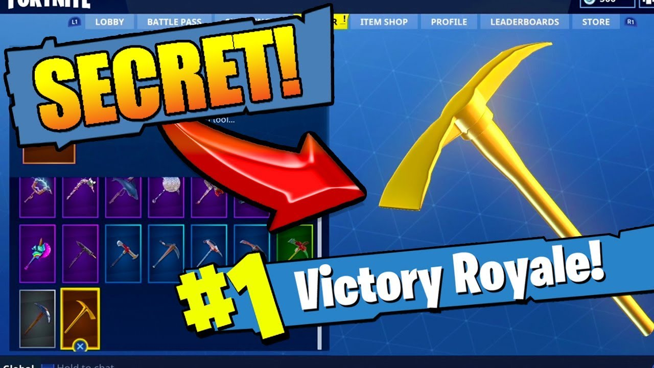 Stream New How To Get The Golden Pickaxe In Fortnite