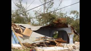 Download The aftermath of devastating Hurricane Matthew in Lowe Sound, Andros Bahamas. Video