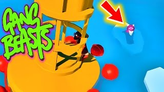 Download I DIDN'T KNOW YOU COULD DO THAT!! Funniest Fighting Game Ever - GANG BEASTS (Funny Moments) Video