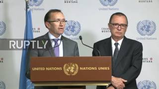 Download Switzerland: Cyprus peace agreement 'hard but not impossible' - UN Video