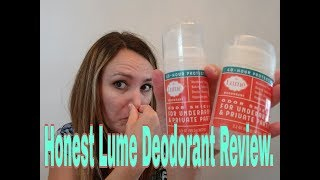 Download Honest Lume Deodorant Review. My Stinky Pits Vs Lume, who won? Video