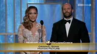 Download Jennifer Lopez Gives Award to Adele for 'Skyfall' - Golden Globes 2013 Video