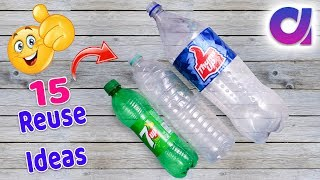 Download 15 most amazing way to reuse plastic bottle | Best out of waste | Artkala 519 Video