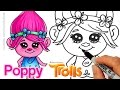Download How to Draw Poppy from Trolls Movie Cute and Easy Video
