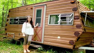 Download 14 year-old transforms a 1974 Wilderness camper into a dreamy 'glamper' Video