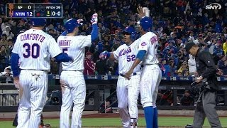 Download Cespedes launches a grand slam to left Video