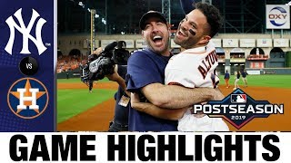 Download Jose Altuve's walk-off HR sends Astros to World Series in Game 6!   Yankees-Astros MLB Highlights Video