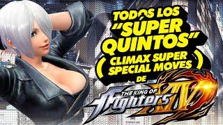 Download Todos los ″Súper Quintos″ (Climax Super Special Moves) de KOF XIV Video