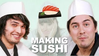 Download DIY Conveyor Belt Sushi Set For Kids [Feat.The Anime Man & Abroad in Japan] Video