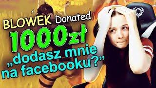 Download WYSŁAŁEM JEJ 1000 ZŁ DONATE *była w szoku* Video