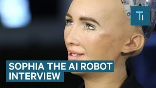 Download We Talked To Sophia — The AI Robot That Once Said It Would 'Destroy Humans' Video