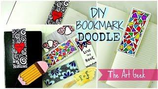 Download DIY- 7 DOODLE BOOKMARKS ► part-1 Video